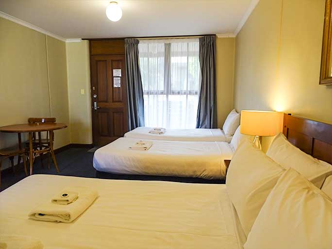 Family motel room Lightkeepers Inn Motel Aireys Inlet accommodates 4 people